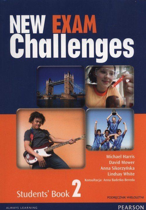 New Exam Challenges 2 Student's Book Podręcznik wieloletni + CD