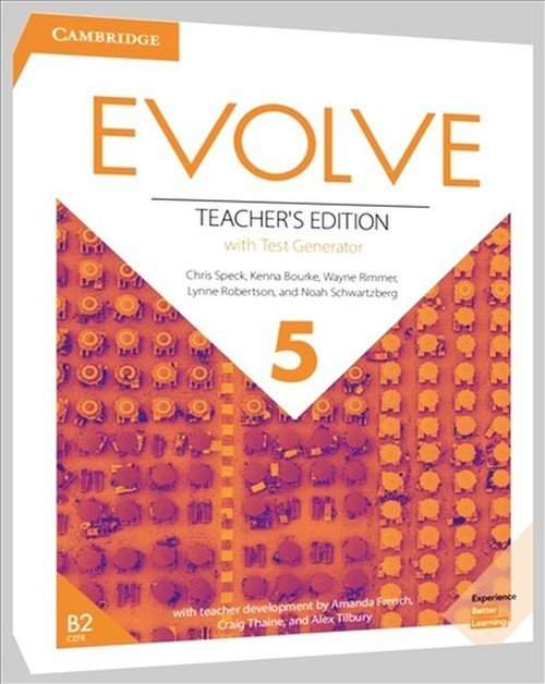 Evolve 5 Teacher's Edition with Test Generator