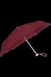 Parasolka manualna ALU DROP S 3 SECT. MANUAL FLAT BORDEAUX 00-003