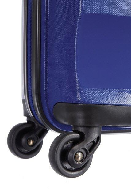Bagaż posiada cztery mocne koła