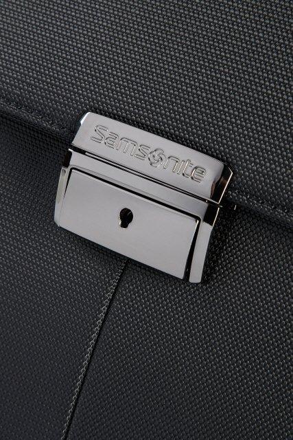 """Teczka z miejscem na laptopa dwukomorowa  XBR-BRIEFCASE 2 GUSSETS 15.6"""" 009"""