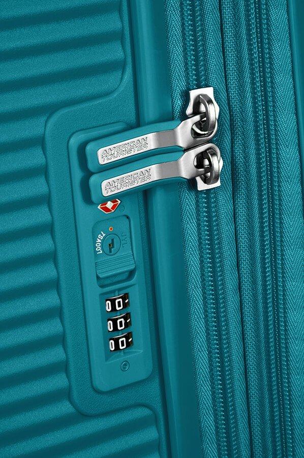 Walizka podręczna SOUNDBOX-SPINNER 55/20 TSA EXP Jade green