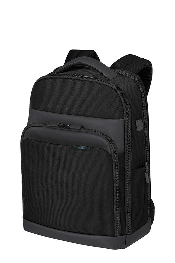 """Plecak na laptopa 14,1"""" wykonany z poliestru uzyskanego z butelek PET"""