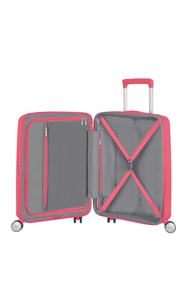 Walizka SOUNDBOX-SPINNER 77/28 TSA EXP Hot pink