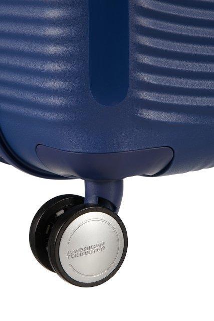 Walizka podręczna SOUNDBOX-SPINNER 55/20 TSA EXP Navy