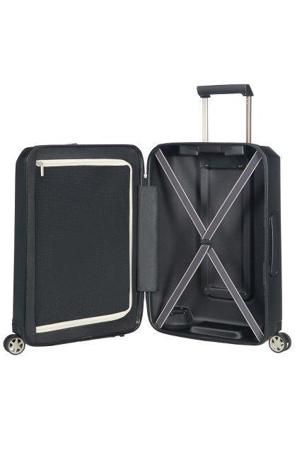 Bagaż posiada wewnątrz zamykaną na suwak odzielną mniejszą  część na ubrania