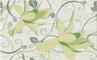 Artiga Light Green Inserto Flower 25x40