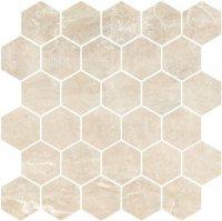 Golden Beige Mozaika Heksagon 27x27