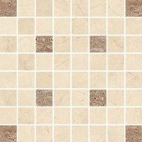 Light Marble Beige Mosaic Square 29x29