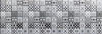 Opp Lace Black & White DGL-281-L1 30x90