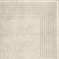 Scandiano Beige Stopnica Narożna 30x30