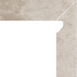 Viano Beige Cokół 2 El. Prawy 8,1x30