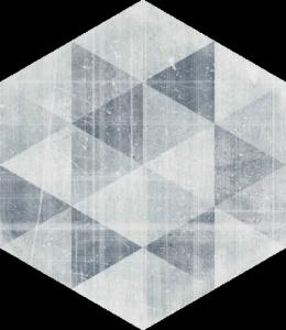 Hexx Universum Motyw Grigio Heksagon 26x26