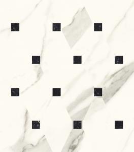 Paradyż Calacatta Mozaika Poler 23,6x25,2