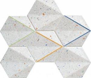 Tubądzin Dots Grey Mozaika 29,8x22,1