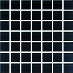 Domenico Black Glass Mosaic 20x20