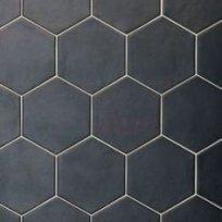 Equipe Hexatile Negro Mate 17,5x20