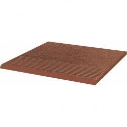PARADYZ taurus brown stopnica prosta 30x30 g1