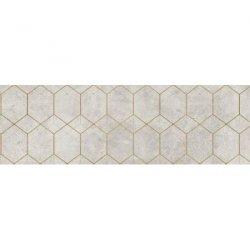 CERRAD gres softcement white decor geo rect.  1197x297x8 g1 m2