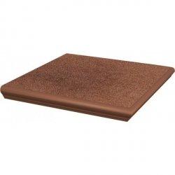 PARADYZ taurus brown kapinos stopnica narożna 33x33 g1 szt.