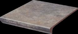 PARADYZ viano grys kapinos stopnica prosta 30x33 g1 szt.