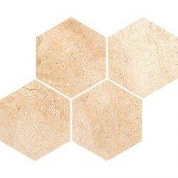 CERAMIKA COLOR arena cream   mosaic 21x26 szt g1