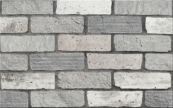 CERSANIT wika grey inserto structure 25x40 szt.