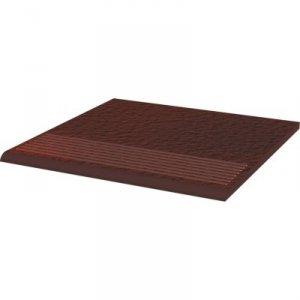 PARADYZ cloud brown stopnica prosta duro 30x30 g1
