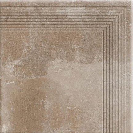 CERRAD stopnica narożna piatto sand 300x300x9 g1 szt..