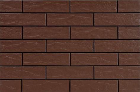 CERRAD elewacja brąz rustiko  245x65x6,5 g1 m2