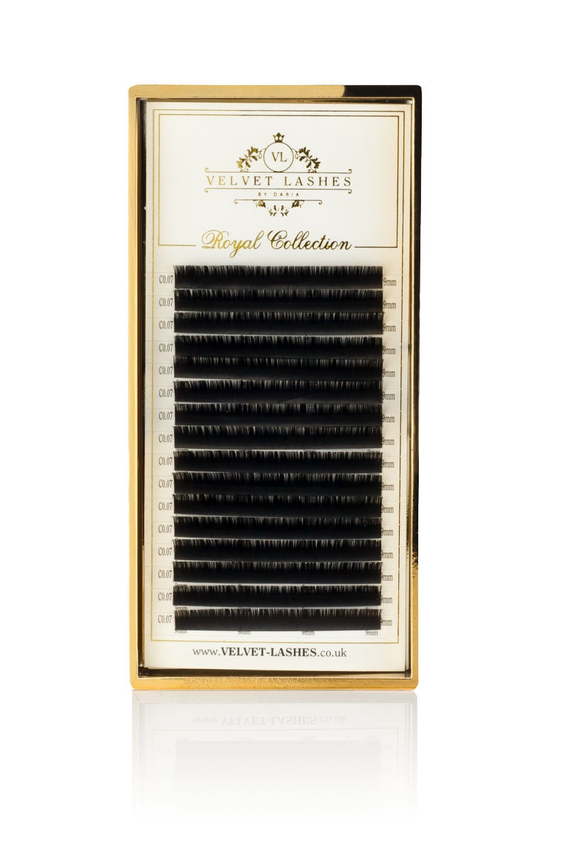 Paleta Rzęs C 0,05 Royal Mink by Velvet Lashes
