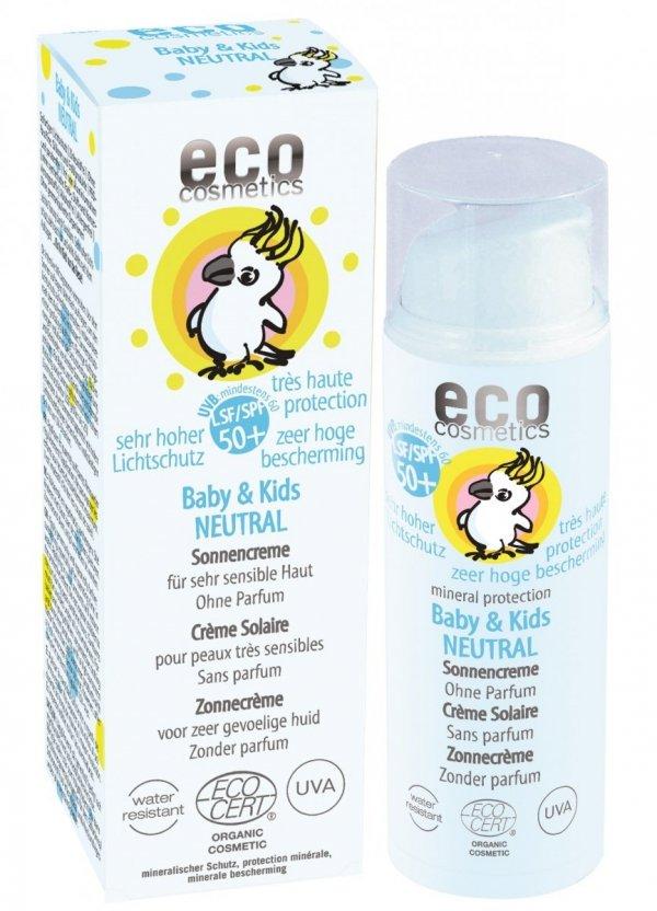 C477 Krem na słońce faktor SPF 50+ dla dzieci i niemowląt NEUTRAL