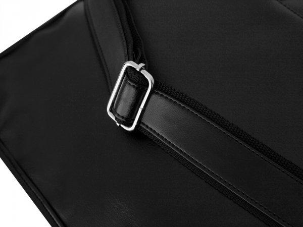 Torba na laptop Solier S13 czarna detal 1