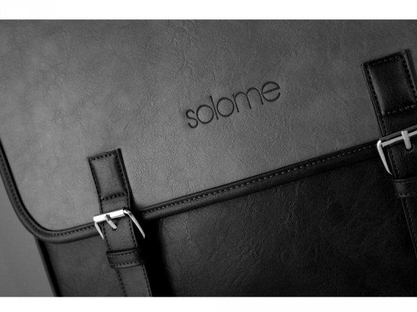 SZARA TORBA MĘSKA NA RAMIĘ SOLOME CAMBRIDGE
