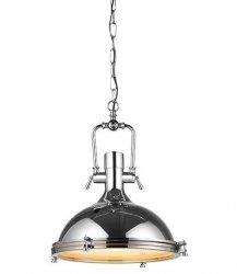 INDUSTRIALNA LAMPA WISZĄCA AZZARDO GARLAND CHROM AZ2373 STYLOWA LAMPA LOFT