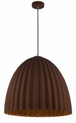 NOWOCZESNA LAMPA SUFITOWA SIGMA BROWN-COPPER 32025