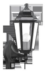 RABALUX LAMPA KINKIET ŚCIENNY OGRODOWA VELENCE 8217 Z CZUJNIKIEM RUCHU DO OGRODU NA ZEWNĄTRZ
