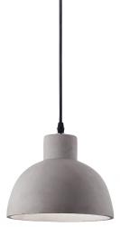 BETONOWA LAMPA WISZĄCA OIL--5  IDEAL LUX 129082