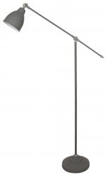 INDUSTRIALNA LAMPA PODŁOGOWA ITALUX SONNY ML-HN3101-1-GR SZARA