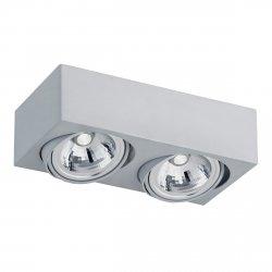 NOWOCZESNY SPOT SUFITOWY LED ARGON RODOS 650 2x5W