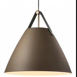 NOWOCZESNA LAMPA WISZĄCA DESING FOR THE PEOPLE STRAP 48 BRĄZOWA 84353009