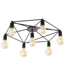 EGLO STAITI 97904 LAMPA SUFITOWA PLAFON CZARNY