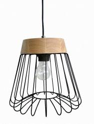 DRUCIANA LAMPA WISZĄCA LIGHT PRESTIGE NIDO  LP-128/1P BK