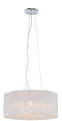 ITALUX QUARTZ II P0173-06M-F4B3 LAMPA WISZĄCA Z KRYSZTAŁKAMI