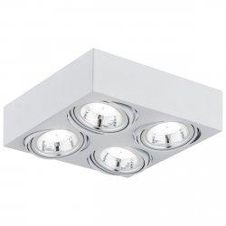 NOWOCZESNY SPOT SUFITOWY LED ARGON RODOS 1572 4x5W