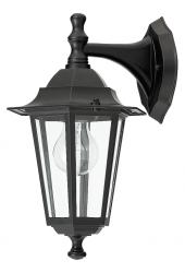 RABALUX LAMPA KINKIET ŚCIENNA OGRODOWA VELENCE 8202 CZARNY