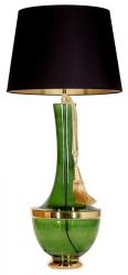 ABAŻUROWA LAMPKA STOJĄCA TROYA GREEN CONCEPTS L232272257 ZIELONA DO SALONU VINTAGE