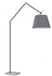 NOWOCZESNA LAMPA PODŁOGOWA AZZARDO ZYTA FLOOR ML2300-L ALU/GR