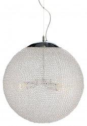 NOWOCZESNA LAMPA WISZĄCA KULA AKRYLOWA ITALUX SKY MD13002025-1B