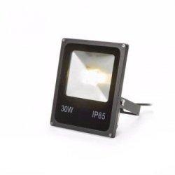ZEWNĘTRZNA LAMPA ZIEMNA REFLEKTOR RAY R10411 REDLUX CZARNA DUŻY Z ZASILACZEM